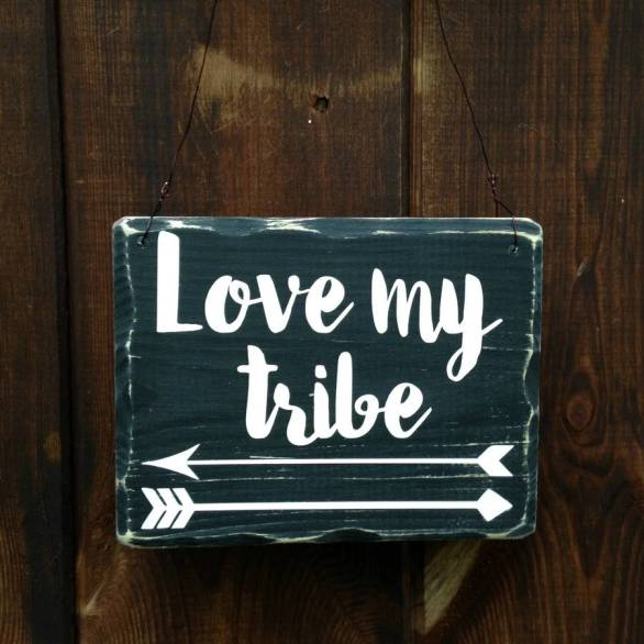 original_love-my-tribe-arrow-handmade-small-sign